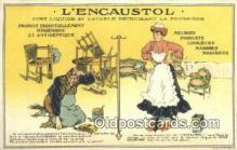 adv001905 - Lencaustol  Advertising Postcard Post Card