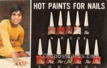 adv002044 - Hot Paints for Nails, Gold Medal Hair Prod, Inc Advertising Postcard Post Card