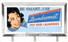 Licensed Westinghouse Laundromat Postcard Post Card