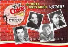 adv002071 - Diet Coke with Lemon Advertising Postcard Post Card