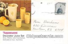 adv002083 - Tupperware Advertising Postcard Post Card