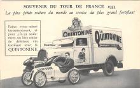 Souvenir Du Tour De France 1935 La Quintonine