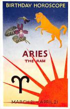Birthday Horoscope Aries The Ram