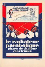 Le Radiateur Parabolique Phare De Chaleur Electrique