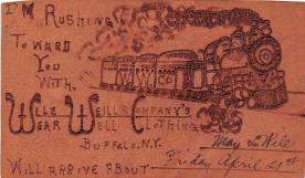 adv012191 - Advertising Post Card