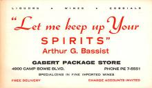adv018047 - Wine and Liquor Advertising Old Vintage Antique Post Card