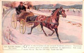 adv019009 - Horse Blanket Advertising Old Vintage Antique Post Card