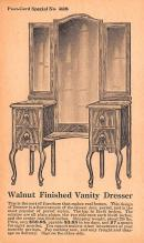 adv020057 - Furniture Advertising Old Vintage Antique Post Card