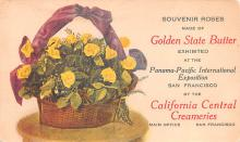 adv021003 - Flowers Advertising Old Vintage Antique Post Card