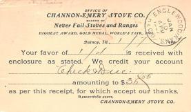 adv022197 - Hardware Advertising Old Vintage Antique Post Card