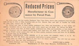 adv022199 - Hardware Advertising Old Vintage Antique Post Card