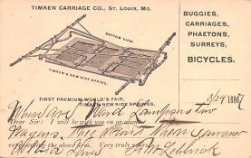 adv022231 - Hardware Advertising Old Vintage Antique Post Card