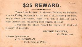adv022247 - Hardware Advertising Old Vintage Antique Post Card