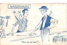 adv022267 - Hardware Advertising Old Vintage Antique Post Card