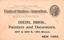 adv022269 - Hardware Advertising Old Vintage Antique Post Card