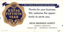 adv025007 - Insurance Advertising Old Vintage Antique Post Card