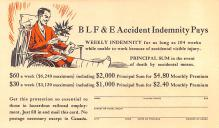 adv025127 - Insurance Advertising Old Vintage Antique Post Card