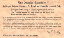 adv025135 - Insurance Advertising Old Vintage Antique Post Card
