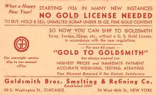 adv026115 - Jewelry Advertising Old Vintage Antique Post Card