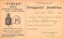 adv028007 - Medicine Advertising Old Vintage Antique Post Card