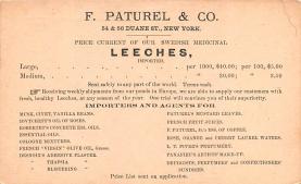 adv028015 - Medicine Advertising Old Vintage Antique Post Card