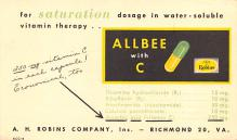 adv028171 - Medicine Advertising Old Vintage Antique Post Card