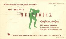 adv028203 - Medicine Advertising Old Vintage Antique Post Card