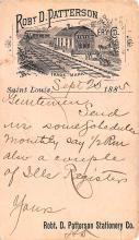 adv030011 - Office Related Advertising Old Vintage Antique Post Card