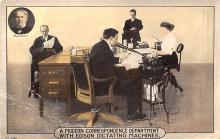 adv030077 - Office Related Advertising Old Vintage Antique Post Card