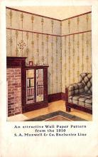 adv032085 - Paint & Wallpaper Advertising Old Vintage Antique Post Card