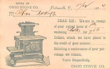 adv033025 - Pionner Advertising (1893 - 1898) Old Vintage Antique Post Card