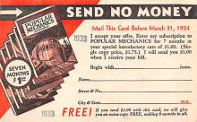 adv035099 - Publications Advertising Old Vintage Antique Post Card