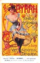 adv100001 - Advertising Byrrh Postcard Tonique Hygienique A Base De Vins Genereux de Quinquina Old Vintage Antique Post Card