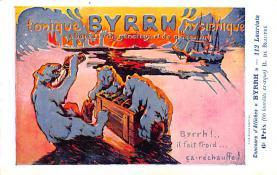 adv100003 - Advertising Byrrh Postcard Tonique Hygienique A Base De Vins Genereux de Quinquina Old Vintage Antique Post Card