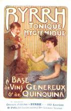 adv100005 - Advertising Byrrh Postcard Tonique Hygienique A Base De Vins Genereux de Quinquina Old Vintage Antique Post Card