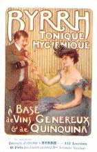 adv100005 - Advertising Byrrh Postcard Tonique Hygienique A Base De Vins Genereux de Quinquina Old Vintage Antique Post Card