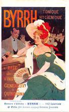 adv100007 - Advertising Byrrh Postcard Tonique Hygienique A Base De Vins Genereux de Quinquina Old Vintage Antique Post Card