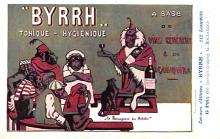 adv100011 - Advertising Byrrh Postcard Tonique Hygienique A Base De Vins Genereux de Quinquina Old Vintage Antique Post Card