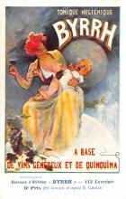adv100013 - Advertising Byrrh Postcard Tonique Hygienique A Base De Vins Genereux de Quinquina Old Vintage Antique Post Card