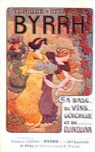 adv100015 - Advertising Byrrh Postcard Tonique Hygienique A Base De Vins Genereux de Quinquina Old Vintage Antique Post Card