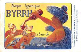 adv100017 - Advertising Byrrh Postcard Tonique Hygienique A Base De Vins Genereux de Quinquina Old Vintage Antique Post Card