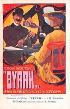adv100019 - Advertising Byrrh Postcard Tonique Hygienique A Base De Vins Genereux de Quinquina Old Vintage Antique Post Card