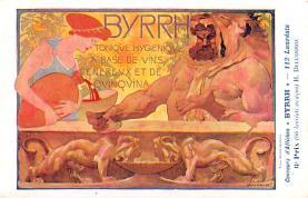 adv100025 - Advertising Byrrh Postcard Tonique Hygienique A Base De Vins Genereux de Quinquina Old Vintage Antique Post Card