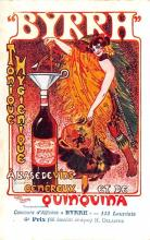 adv100027 - Advertising Byrrh Postcard Tonique Hygienique A Base De Vins Genereux de Quinquina Old Vintage Antique Post Card