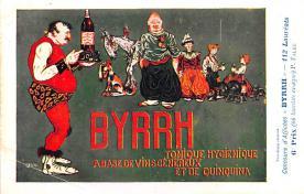 adv100029 - Advertising Byrrh Postcard Tonique Hygienique A Base De Vins Genereux de Quinquina Old Vintage Antique Post Card