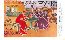 adv100033 - Advertising Byrrh Postcard Tonique Hygienique A Base De Vins Genereux de Quinquina Old Vintage Antique Post Card