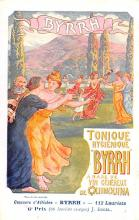adv100035 - Advertising Byrrh Postcard Tonique Hygienique A Base De Vins Genereux de Quinquina Old Vintage Antique Post Card