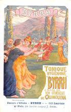 adv100035 - Advertising Byrrh Postcard Tonique Hygienique A Base De Vins Genereux de Quinquina Old Vintage Antique Post Card