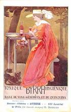 adv100037 - Advertising Byrrh Postcard Tonique Hygienique A Base De Vins Genereux de Quinquina Old Vintage Antique Post Card