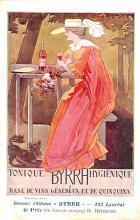 adv100037 - Advertising Byrrh Postcard Tonique Hygienique A Base De Vins Genereux de Quinquina Old Vintage Antique Post Card